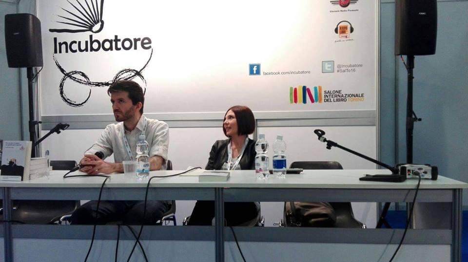 Davide Bacchilega Salone Libro Torino